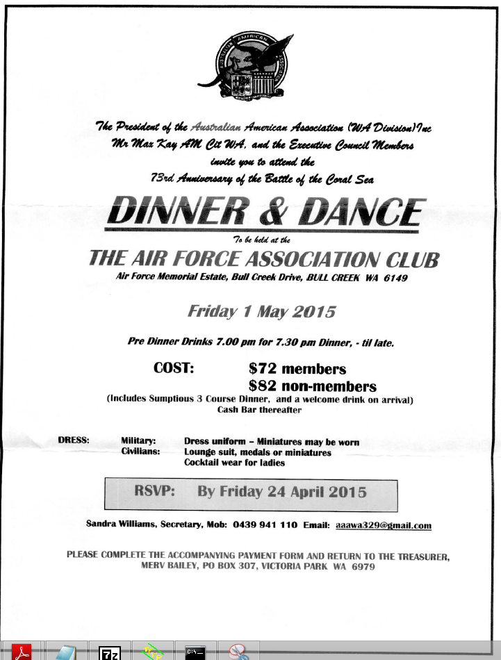 Airforce Association Dinner Dance